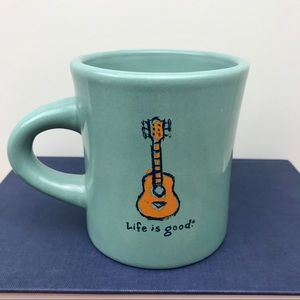 LIFE IS GOOD coffee mug